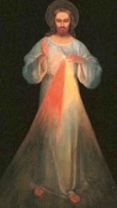 Tableau peint sur les indications de sainte Faustine
