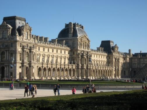 Le Louvre et son jardin