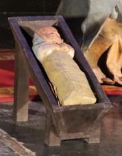Crèche dans la cathédrale de Reims -Oeuvre de Paul Bialais