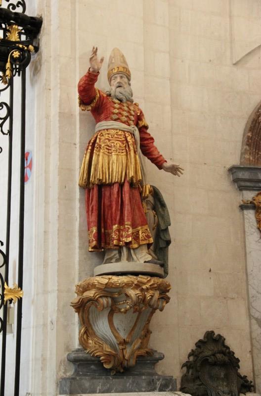 Eglise abbatiale de Valloires - Statue d'Aaron
