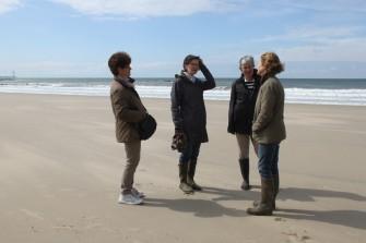 Jacqueline, Nadine, Charlotte et Astrid