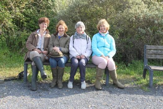 Jacqueline, Astrid, Chantou, Isabelle