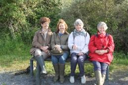 Jacqueline, Astrid, Chantou, Caté