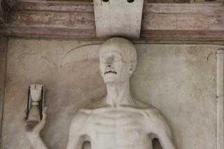Dans le cimetière de Saint-Sébastien