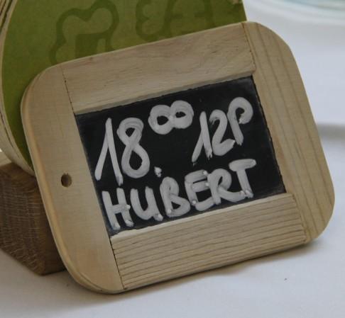 Hubert, c'est plus facile que des Courtis...