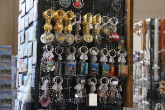 Marché aux porte-clés