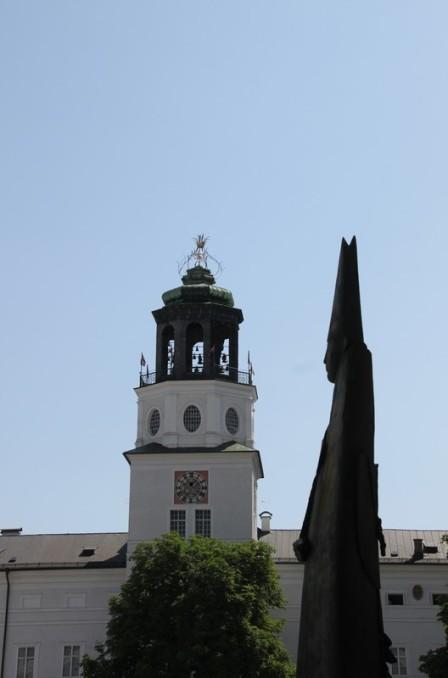 Rathaus et évêque