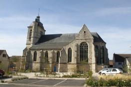 L'église de Troissy en Champagne