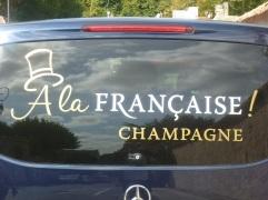 Champagne : spécialité française !