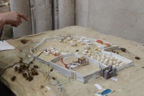 Orbais l'Abbaye - Maquette de Jérusalem au moment de la mort et de la résurrection du Christ