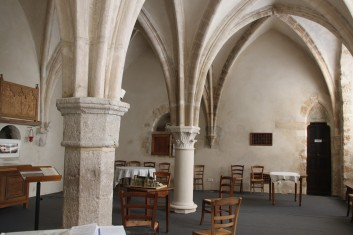 Orbais l'Abbaye - Salle capitulaire