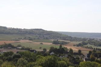 Mémorial de Dormans - Champagne - Vue sur la Champagne