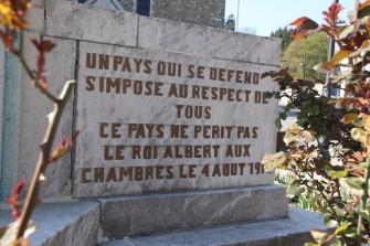 """Theux - Monument aux morts """"verso"""""""