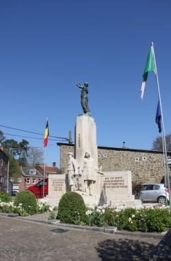"""Theux - Monument aux morts """"recto"""""""