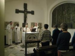 Messe dans les grottes vaticanes 2019