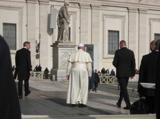 Le pape François - Tous droits réservés