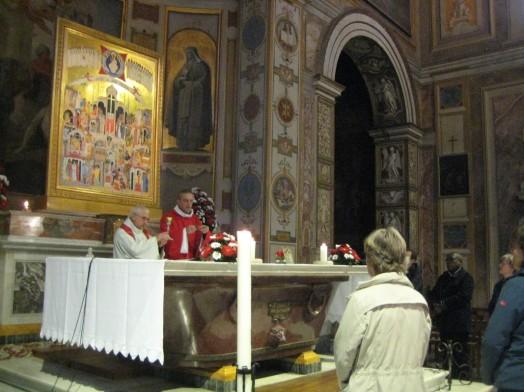 Messe à San Bartolomeo all'Isola Rome 2019