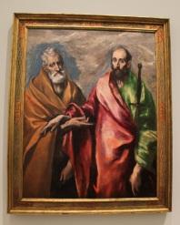 Saint Pierre et saint Paul - Le Greco - Tous droits réservés