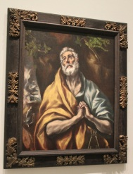 Saint Pierre repentant - Le Greco - Tous droits réservés