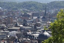 Liège par un beau jour de juin