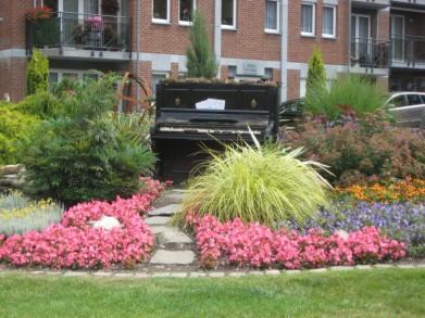 Un piano en pleine nature - Spa