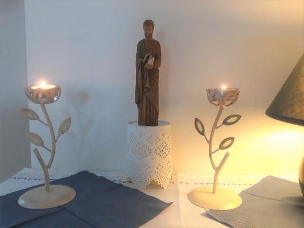 Statue de saint Joseph offerte par Marco 2do - 2021